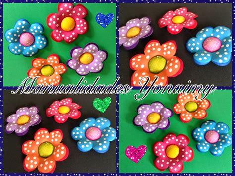 flores de foamy manualidades yonaimy flores sencillas hechas con foamy o