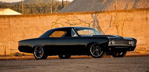 Handcrafted Cars - 67 chevelle ocd customs