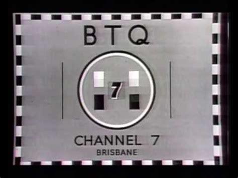 test pattern band brisbane analog tv transmission switch off btq 7 brisbane australia