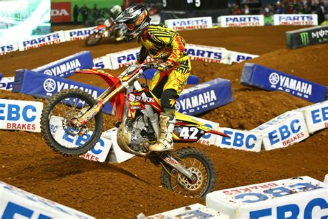 ama motocross sign k n signs tuf racing and vince freise for 2013 east coast