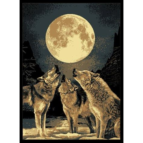 wolf area rug wolf area rugs wolf area rugs shop everything log homes wolf area rugs reviews decorating