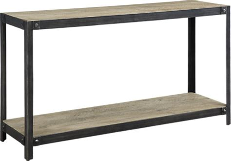 sofa table accessories 348 00 allegany brown sofa table rectangle