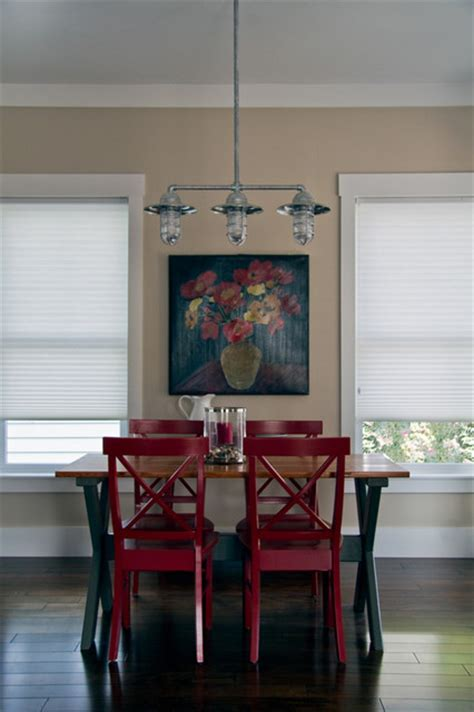 The Vision House Orlando Dining Room Industrial Industrial Dining Room Lighting