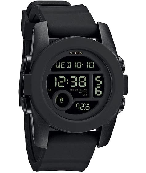 nixon the unit 40 black digital