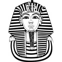 Pharaoh Outline by Tutankhamun Vector Illustration Flickr Photo