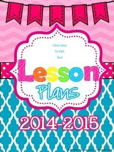 design cover lesson lesson plans on pinterest lesson plan templates teacher