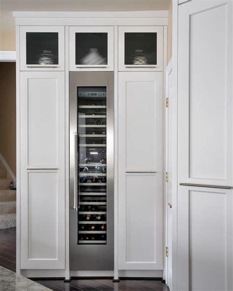 Wine Cooler Kitchen Cabinet Sub Zero Wine Cooler Joe Currie Designer Kitchens Cabinets Wine And Door