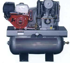 saylor beall ul 743 honda 11 hp 30 gallon gasoline engine driven air compressor nhproequip