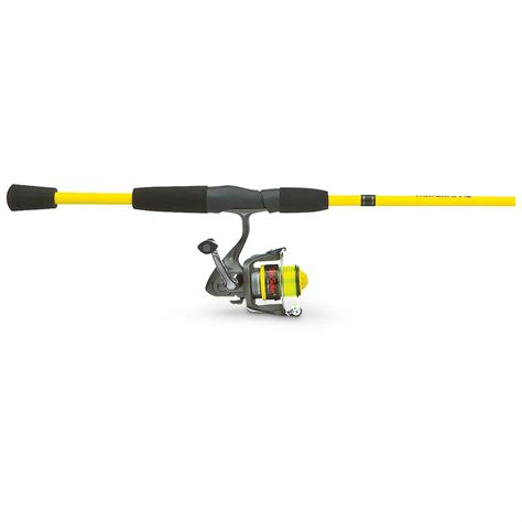 crappie slab shaker  pc rod reel spinning combo