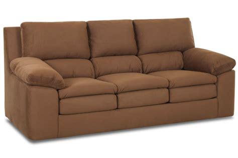 bucks upholstery buck microfiber sofa at gardner white