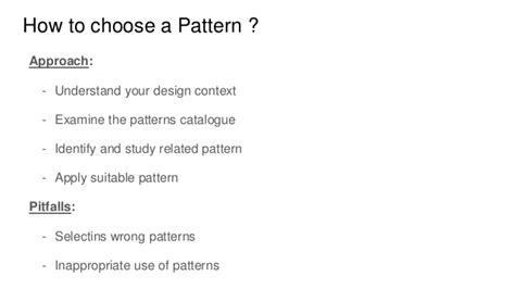 pattern matching tutorialspoint design pattern