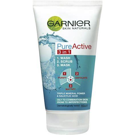 Garnier Active Scrub garnier active 3 in 1 mask wash scrub 150ml