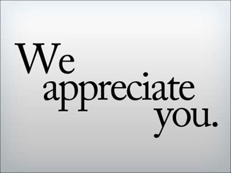 i appreciate you card template we appreciate you quotes quotesgram