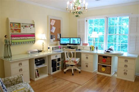 Home Office Craft Room Design Room Decorating Before And After Makeovers