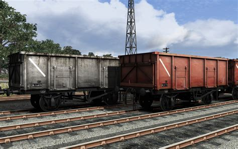 ss 33 028 modelblog uk coal wagon pack on steam