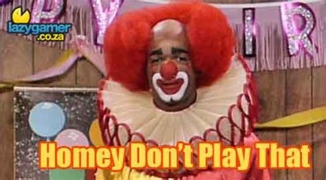 in living color clown niggas wanna clown i m homey and bozo cause in