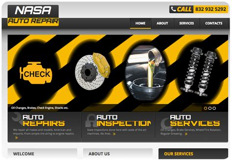 When Search For Your Clients Repair Business Nasa Auto Repair 360 Web Smart
