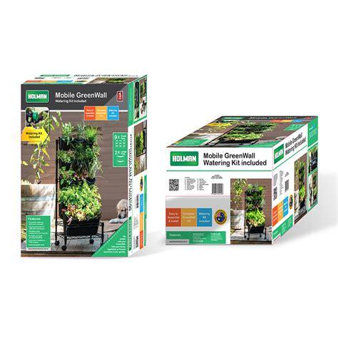 holman mobile greenwall vertical garden bunnings warehouse
