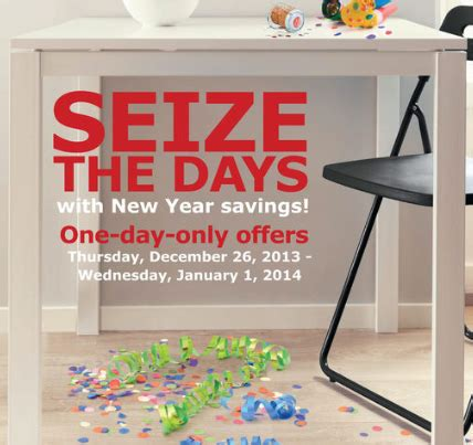 ikea new year sale ikea seize the days new year sale through january 1