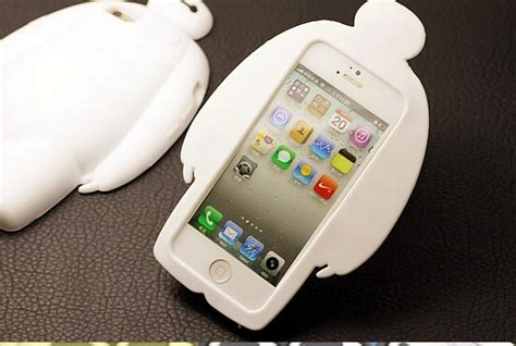 Soft Glittant Iphone 6g Handphone Tablet 3d big 6 baymax soft silicone iphone 6 6g plus 5 5s 5c c cases covers