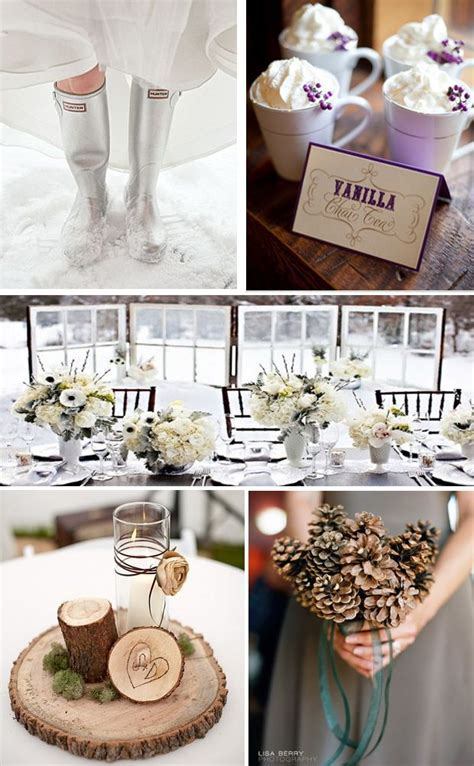 Best Ideas on Pinterest: Winter Themed Wedding Details