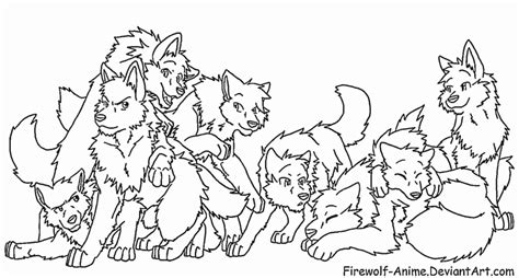 request wolf pack 2 by firewolf anime on deviantart