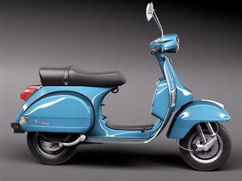 Modifikasi Vespa Px Retro by Vespa Px 150 2011 3d Model Max Obj 3ds Fbx C4d Lwo