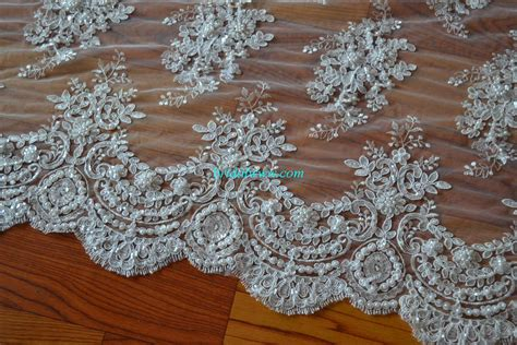 how to bead fabric by beaded lace material images frompo 1