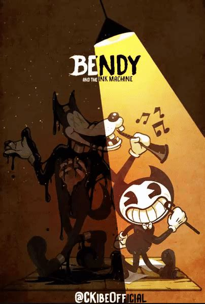 bendy   ink machine animation  ckibe  deviantart