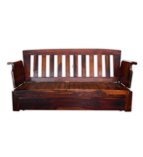 Pics For Gt Wooden Sofa Bed With Storage Wooden Sofa Bed
