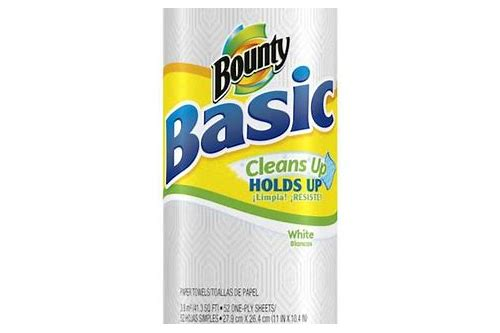 bounty basic paper towels coupons