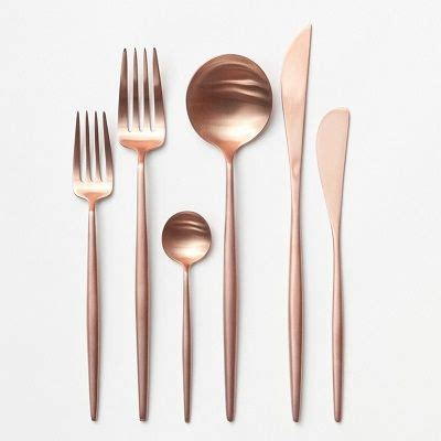 Design For Copper Flatware Ideas The 25 Best Gold Flatware Ideas On Gold