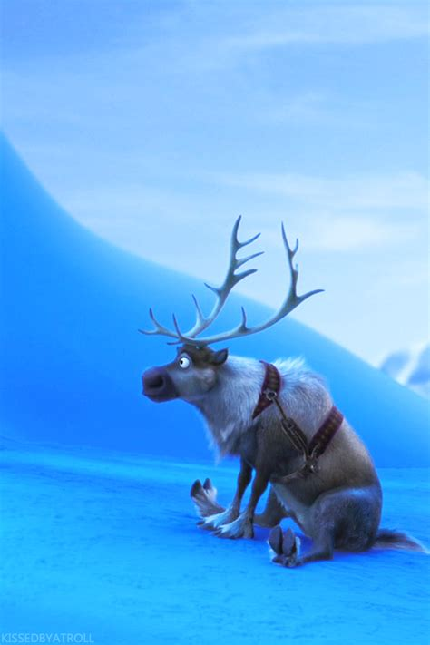 wallpaper frozen sven frozen phone wallpaper olaf and sven photo 39113538