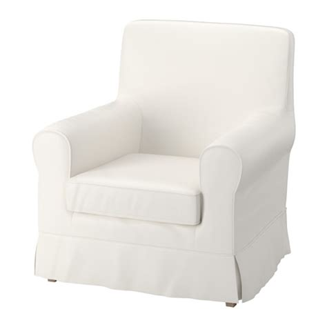 ikea armchair covers ektorp jennylund armchair cover sten 229 sa white ikea