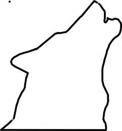 Wolf Sitting Outline by Howling Wolf Outline Clipart Best