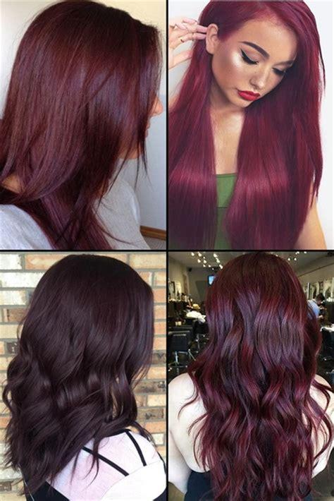 hottest burgundy hair color ideas   hairstyles