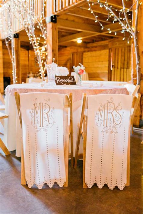 decorating chairs for wedding reception