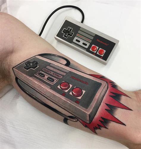 nintendo controller tattoo nes nintendo controller best design ideas