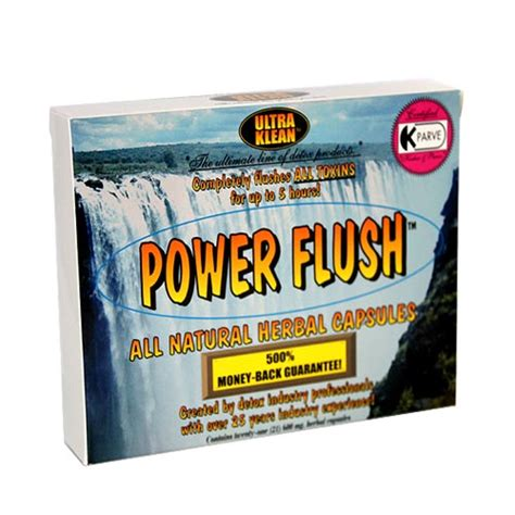 Naturally Kleen Detox by Power Flush Capsules From Ultra Klean