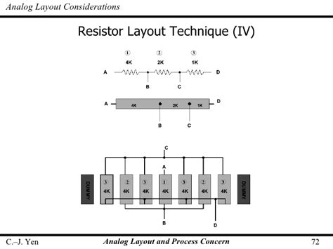 resistor layout ppt resistor string layout 28 images dacs for dsp part 1