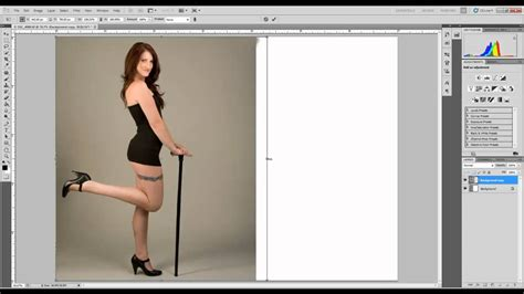 make layout on photoshop cs5 extending a background in photoshop cs5 youtube