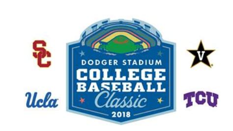 dodger stadium college baseball classic   place march