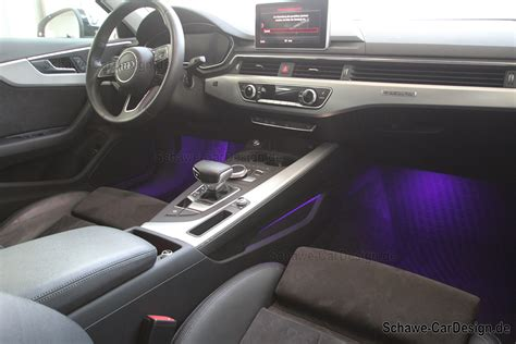 Audi A4 Ambientebeleuchtung by Schawe Led Ambientebeleuchtung Audi A4 B9 8w