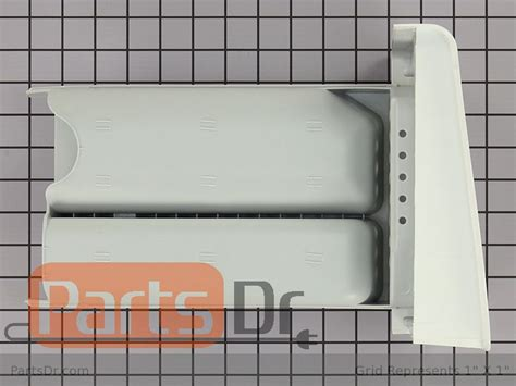 How To Remove Detergent Drawer From Lg Washer by 3721er1073d Lg Detergent Drawer Assembly Parts Dr
