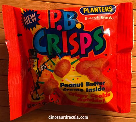 Opening A Pack Of P B Crisps From 1993 Dinosaur Dracula Planters Pb Crisps