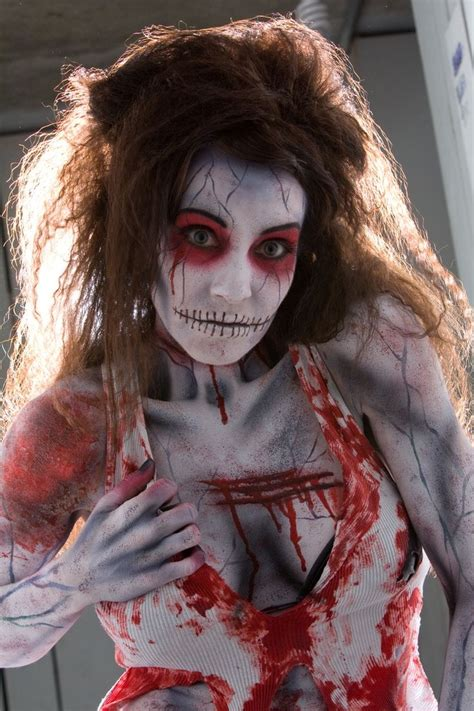 halloween hairstyles for vires zombie makeup how to do it myfreedo