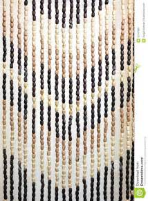 Hanging Bead Curtains Wooden Bead Curtain Royalty Free Stock Image Image 32547886