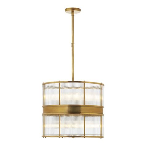 ralph lauren home light fixtures allen large pendant in natural brass lighting products