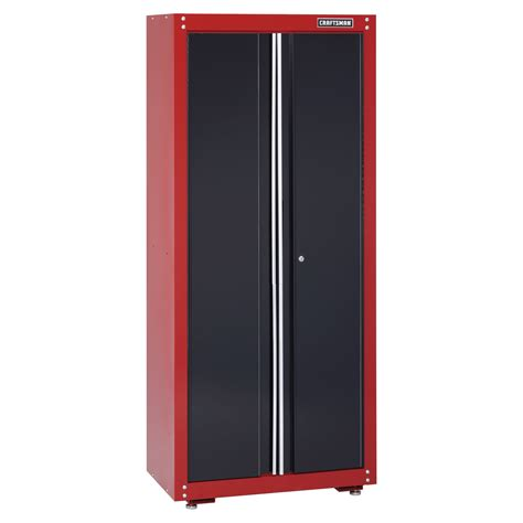 craftsman garage storage cabinets craftsman 32 quot wide floor cabinet red black