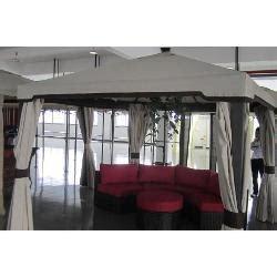 copertura per gazebo in pvc impermeabile amicasa copertura ricambio per gazebo kioto metri 3 x 3